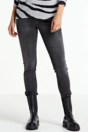 low waist slim fit jeans Aspen Y grijs