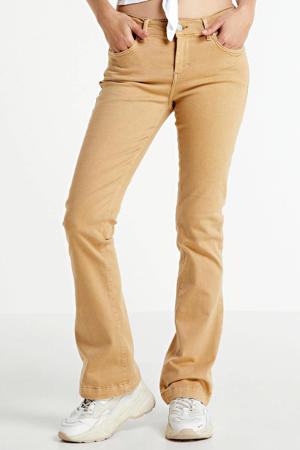 flared jeans Fallon light camel wash
