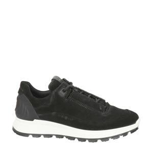 Exostrike  suède sneakers zwart