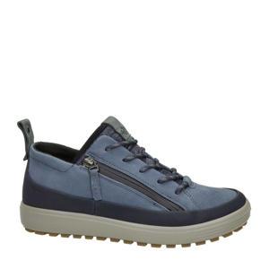 Soft 7 Tred comfort nubuck veterschoenen blauw