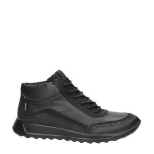 Flexure Runner  leren sneakers zwart
