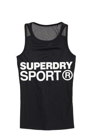 sporttop zwart