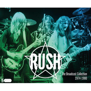 Rush - The Broadcast Collection 1974 -1980 (CD)