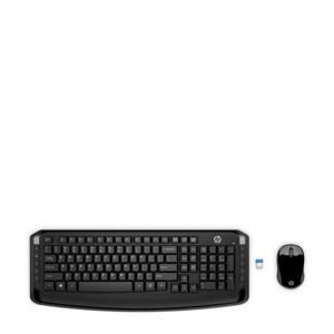 300 draadloos toetsenbord en muis