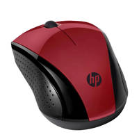 HP Wireless Mouse 220 (rood), Zwart, Rood