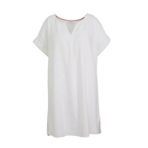 C&A XL Yessica jurk met linnen wit