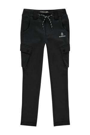 skinny cargo broek Sigi zwart