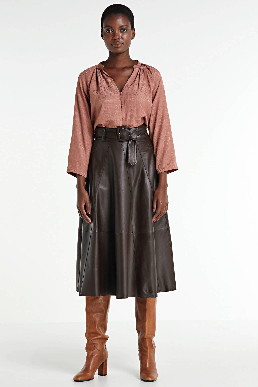 Modström blouse Ellie oudroze, Oudroze