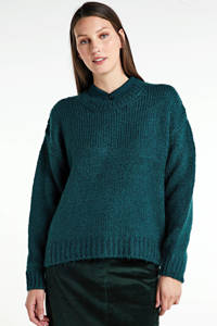 Modström gemêleerde trui Valentia groen, Groen