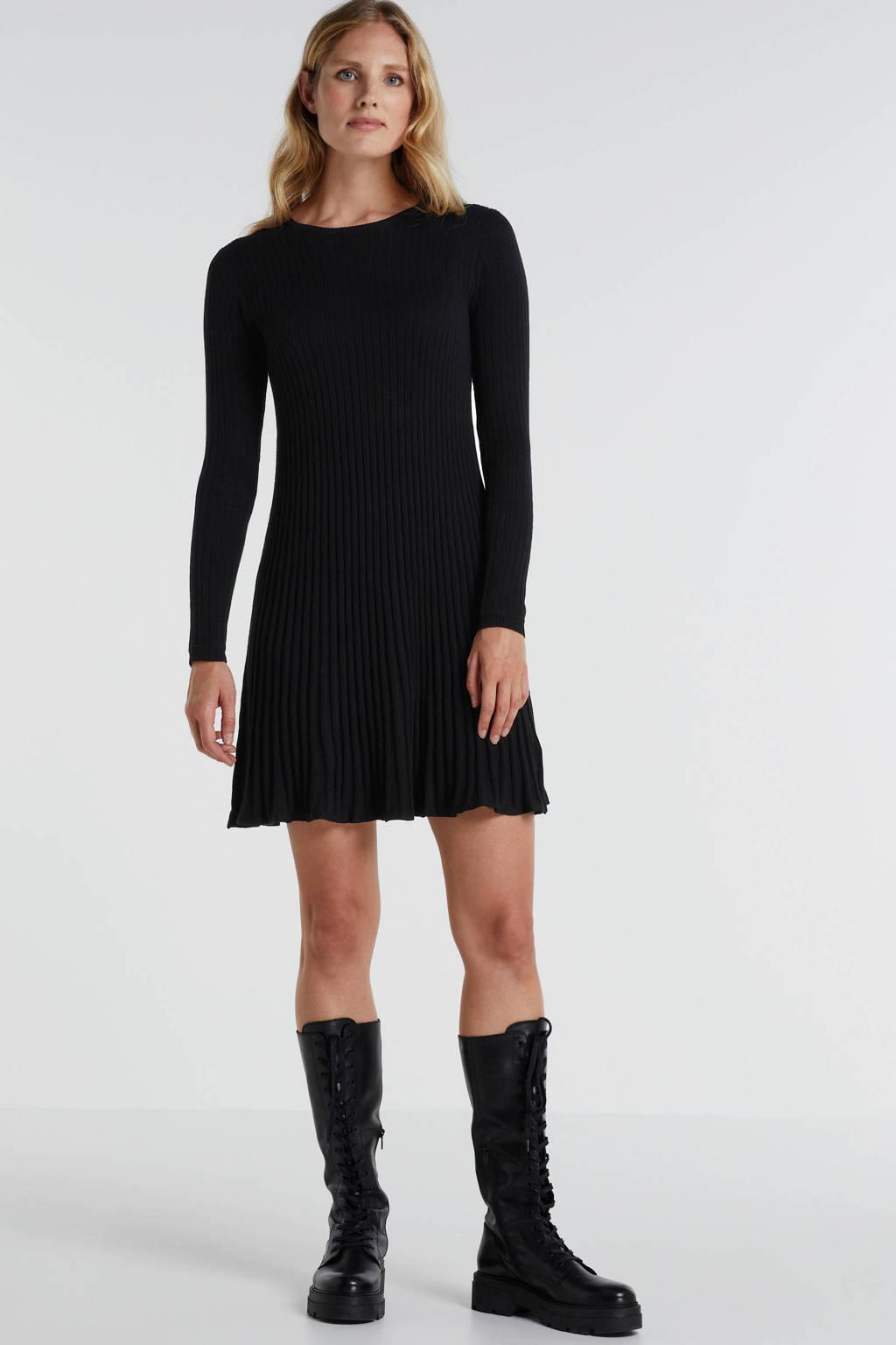 EDITED jurk Katrin zwart, Zwart