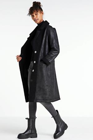 reversible coat Midnight zwart