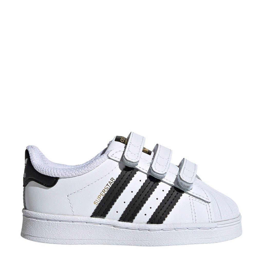 adidas Originals Superstar CF I sneakers wit/zwart, Wit/zwart