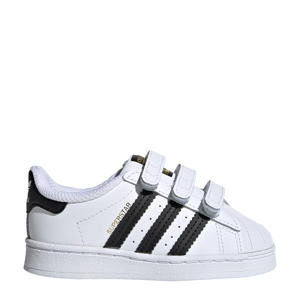 Superstar CF I sneakers wit/zwart