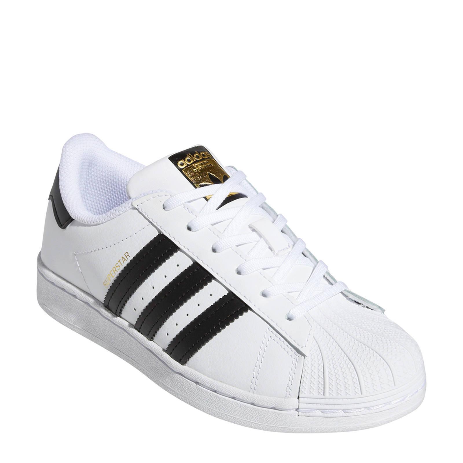 adidas Originals Superstar C sneakers witzwart   wehkamp