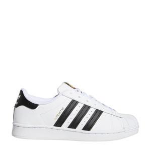 Superstar C sneakers wit/zwart