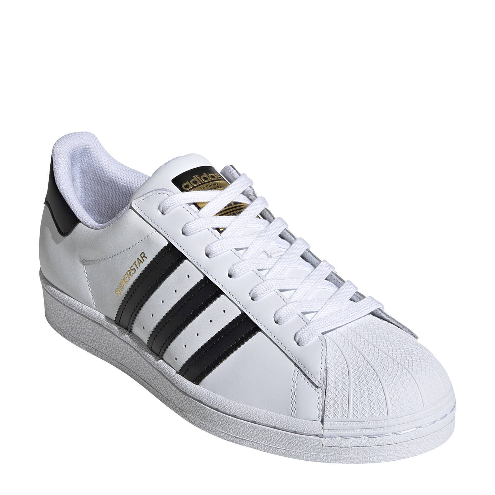 adidas Originals Superstar sneakers wit/zwart | wehkamp