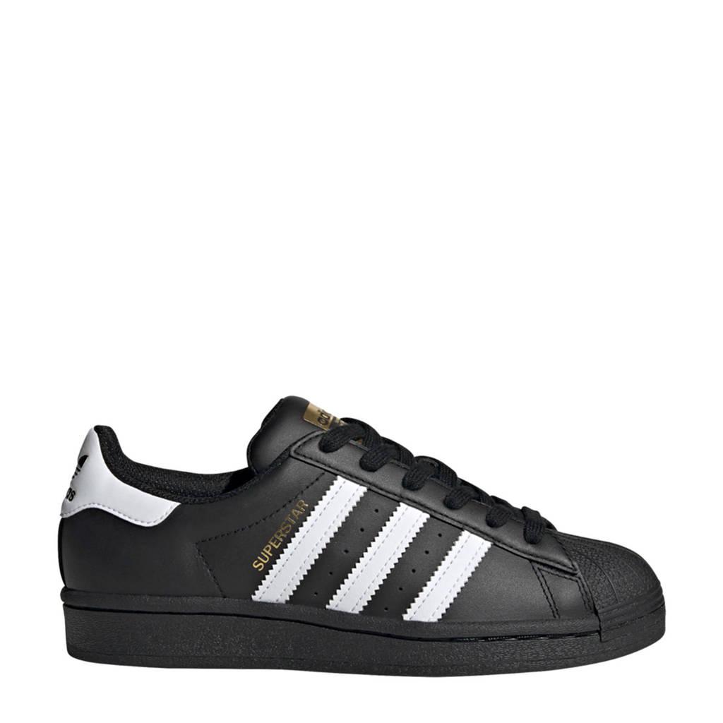 adidas Originals Superstar J sneakers zwart/wit, Zwart/wit