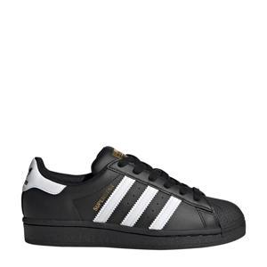 Superstar J sneakers zwart/wit