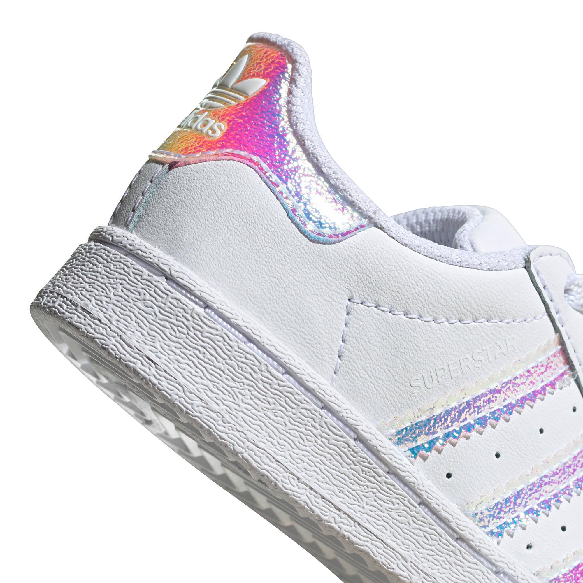 adidas Originals Superstar EL I sneakers witzilver metallic