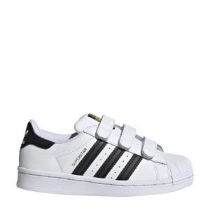 Superstar CF C sneakers wit/zwart