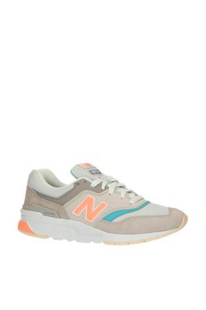 997  sneakers grijs/blauw/oranje