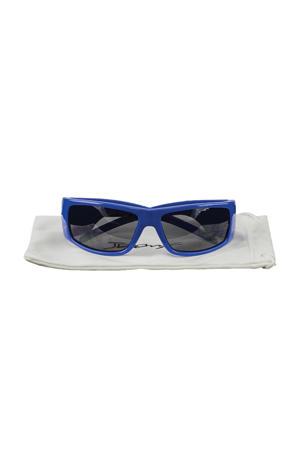 JuniorBanz zonnebril Wraparound blauw