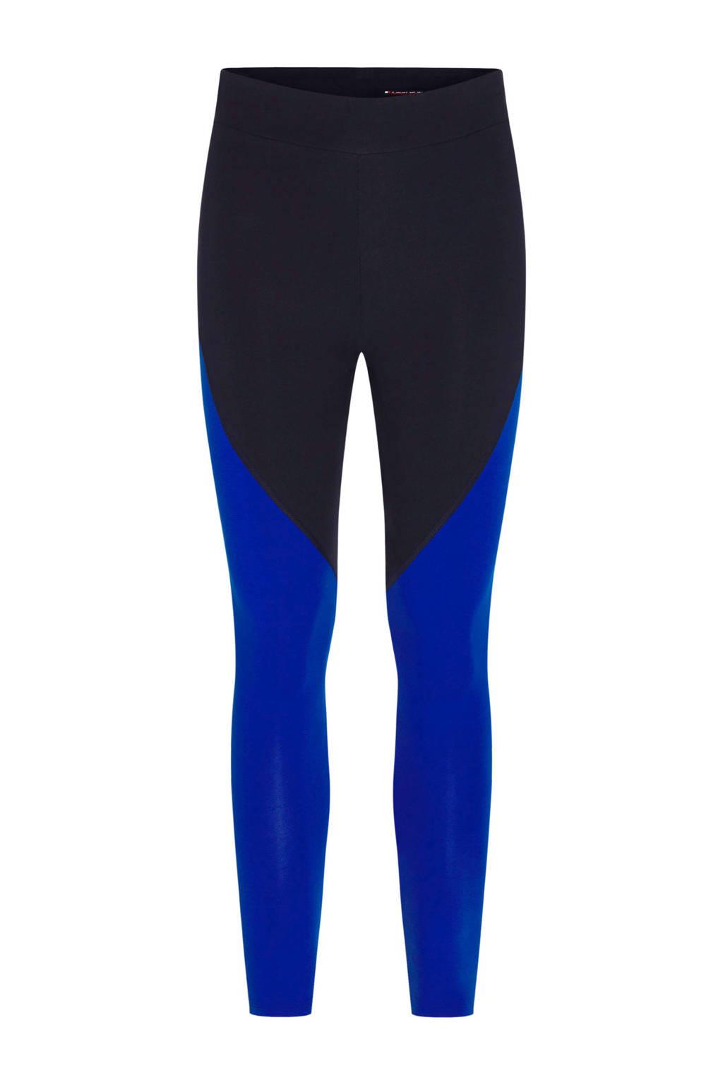 Tommy Hilfiger Sport sportbroek zwart/blauw, Zwart/blauw