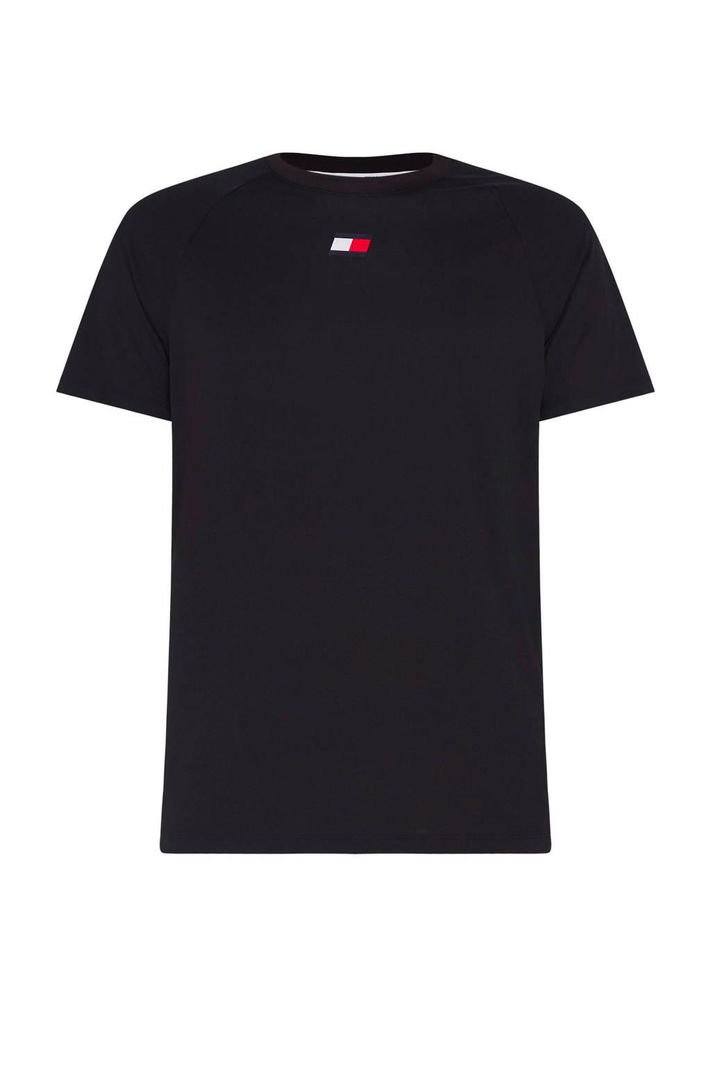 Tommy Hilfiger Sport   T-shirt zwart, Zwart