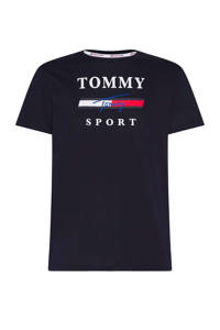 Tommy Hilfiger Sport   sport T-shirt zwart, Zwart