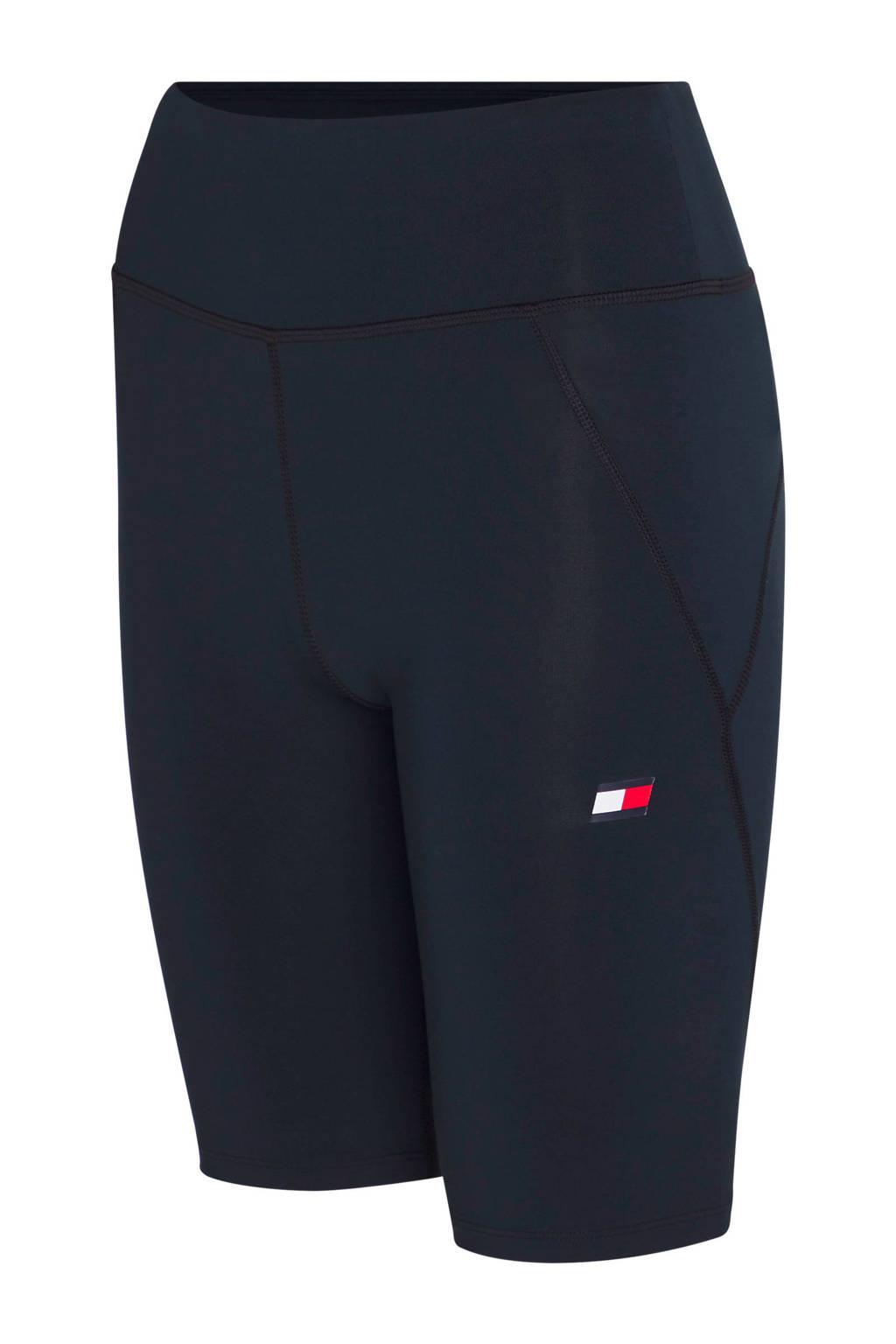 Tommy Hilfiger Sport cycling short zwart, Zwart