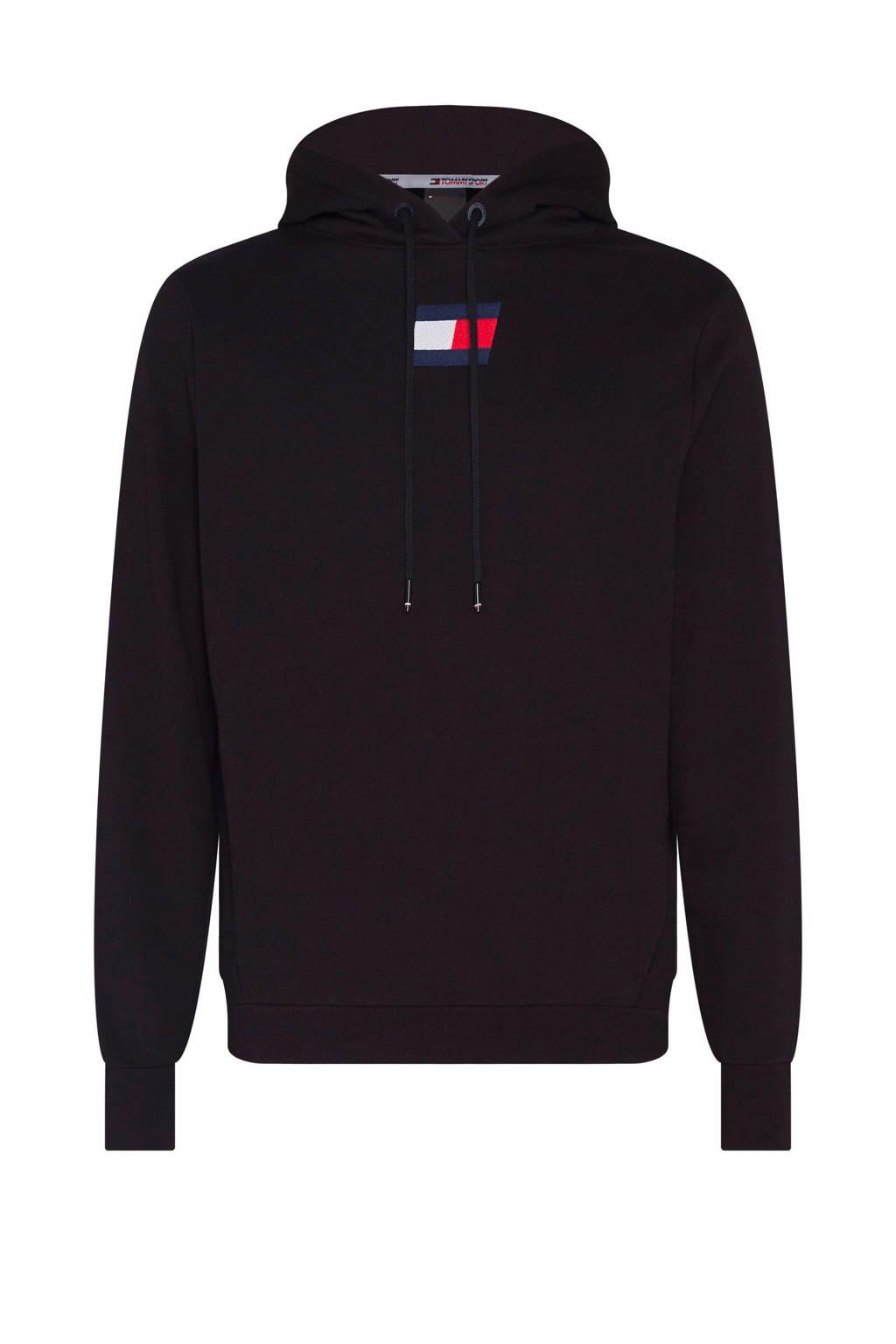 Tommy Hilfiger Sport   sportsweater zwart, Zwart