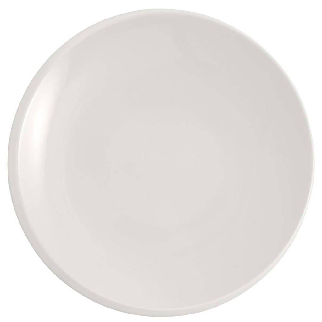 Villeroy & Boch ontbijtbord NewMoon (Ø24 cm), Wit