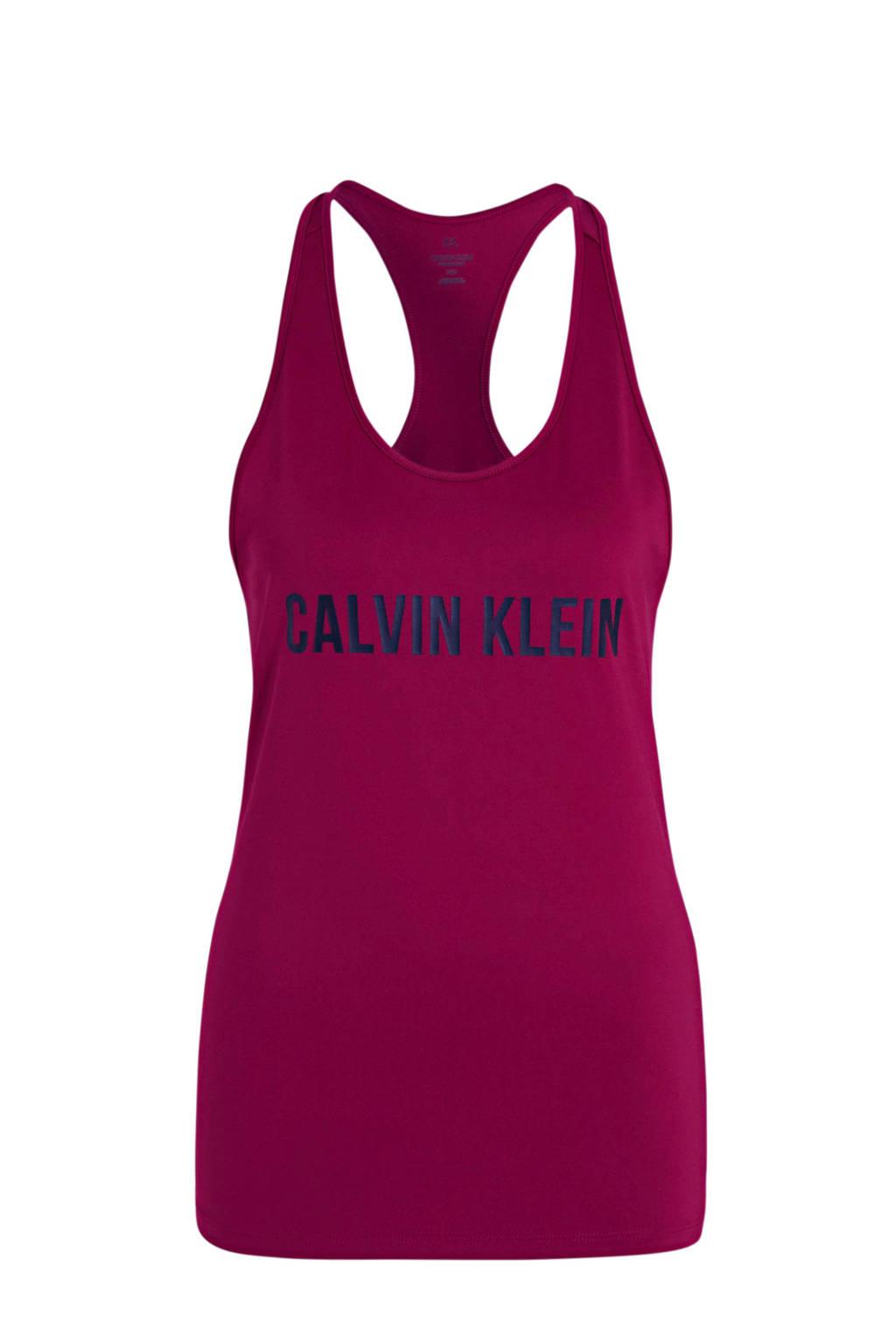 CALVIN KLEIN PERFORMANCE sporttop roze, Roze