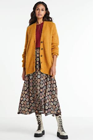 vest Eliandro met wol geel