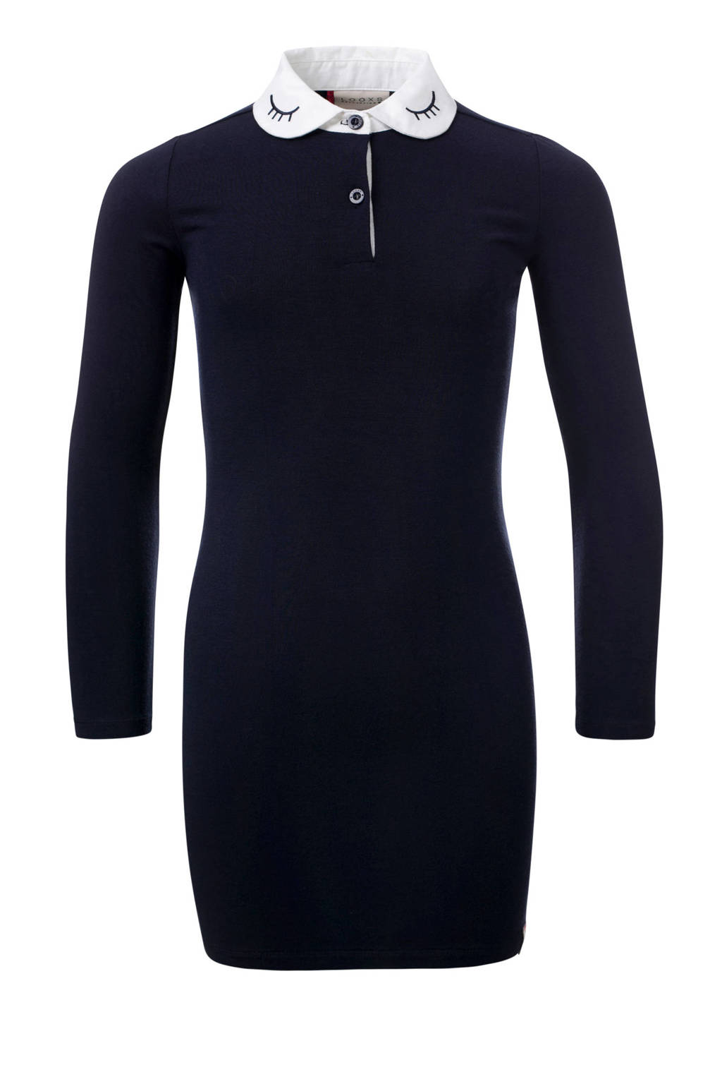 LOOXS 10sixteen jurk donkerblauw, Donkerblauw