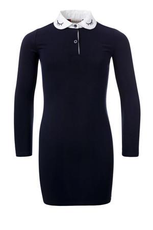 jurk donkerblauw