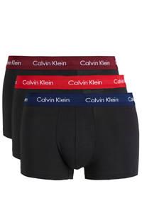 CALVIN KLEIN UNDERWEAR boxershort (set van 3), Zwart/donkerblauw/rood