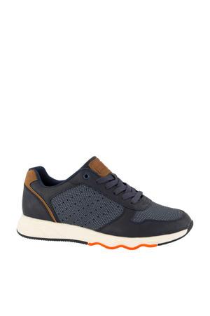 sneakers blauw/bruin