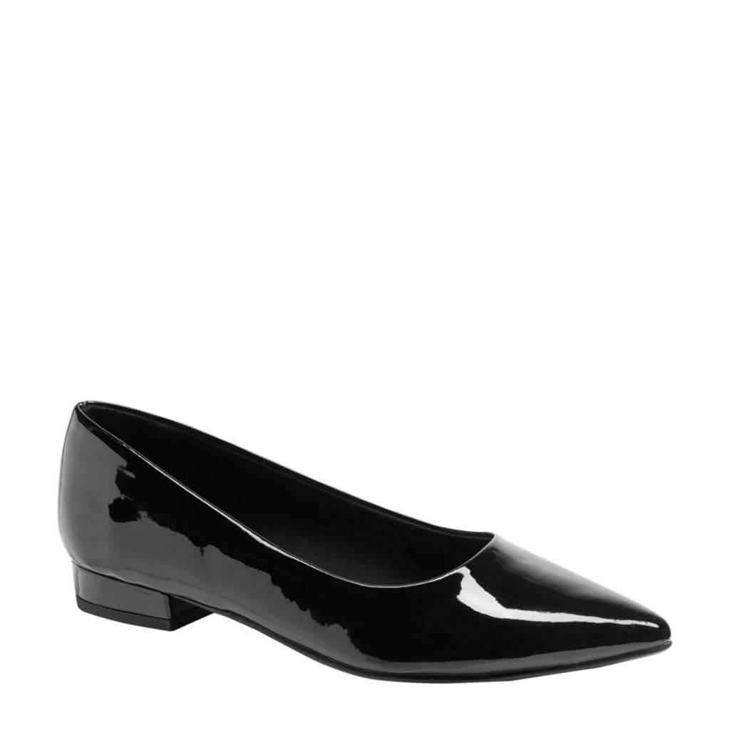 Graceland   lak ballerina's zwart, Zwart