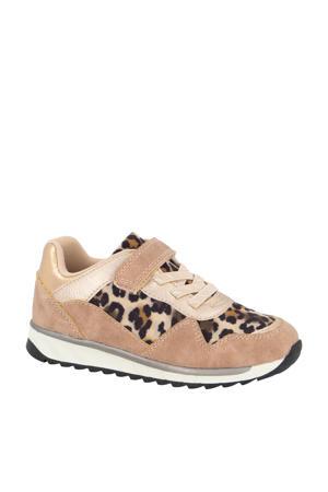 sneakers beige/panterprint