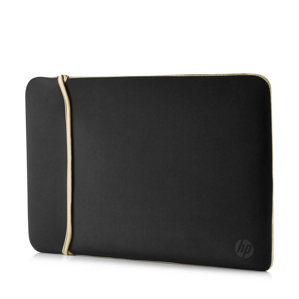 HP Reversible sleeve 15.6 inch (zwart/goud), Black,Gold