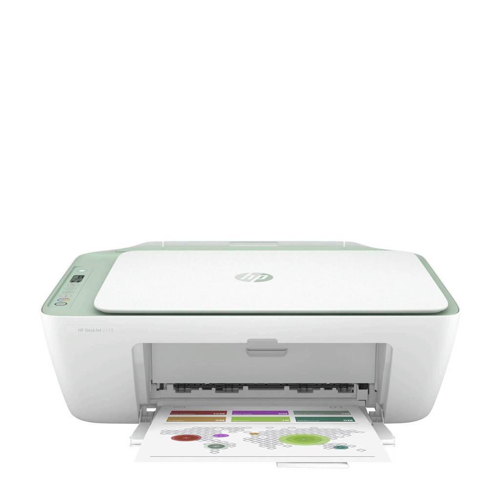 HP  Deskjet 2722 All in One Printer, Wit