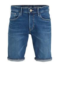C&A The Denim regular fit jeans short blauw, Blauw