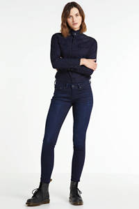 Pepe Jeans skinny jeans Pixie donkerblauw, Donkerblauw