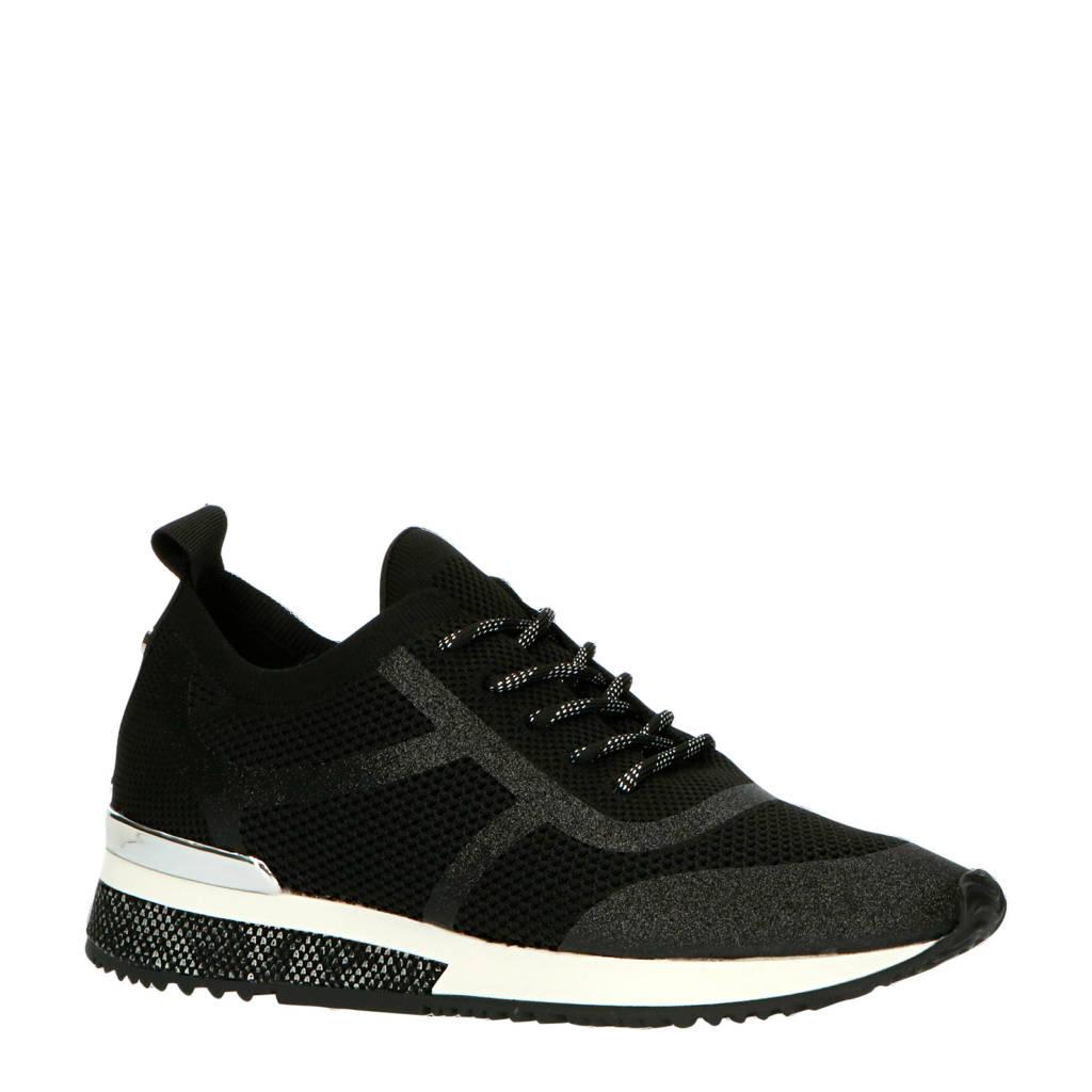 La Strada   sneakers zwart, Zwart