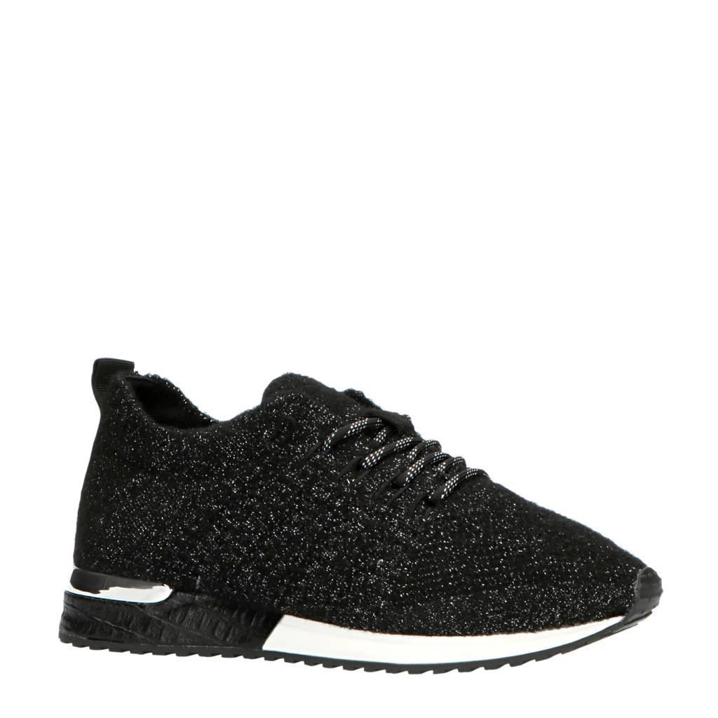 La Strada 1832649  sneakers zwart/zilver, Zwart/zilver