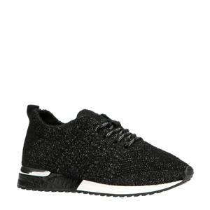 1832649  sneakers zwart/zilver