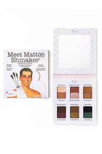The Balm Meet Matte Shmaker oogschaduw palette
