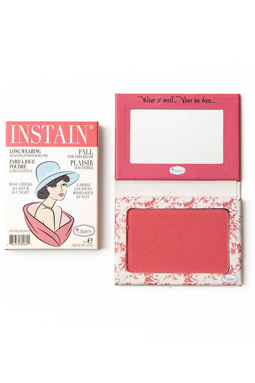 The Balm InStain blush - Toile, Strawberry