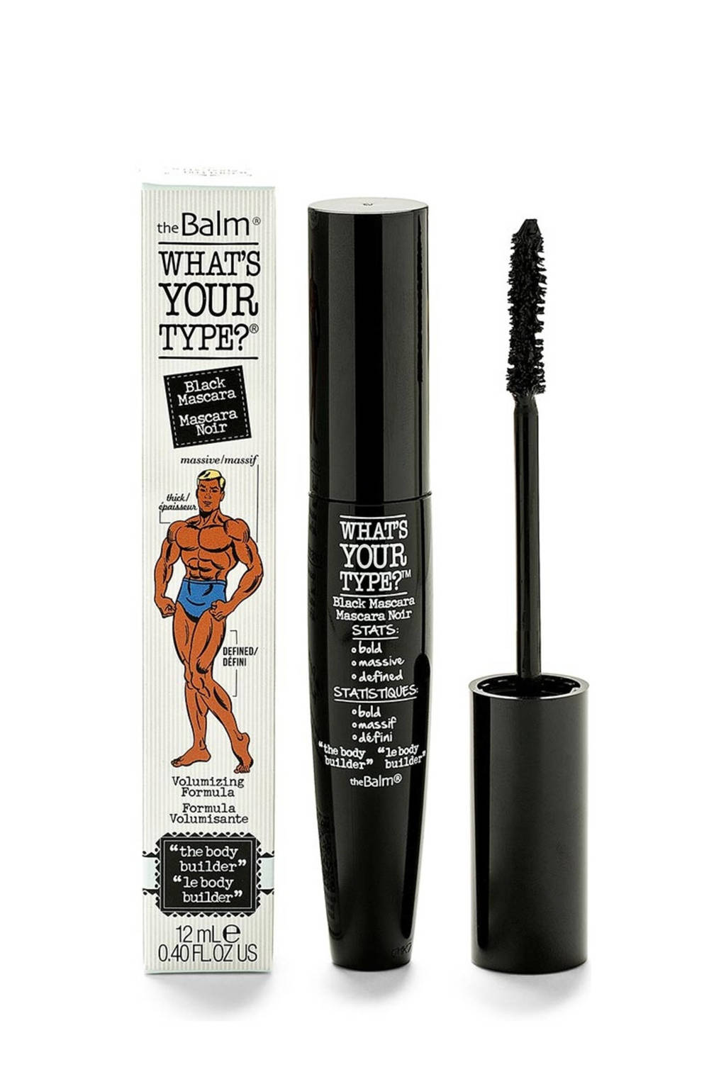 The Balm What's Your Type mascara, Black